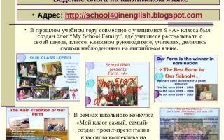 Ведение блога на английском