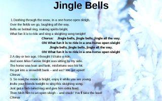 Новогодние и рождественские песни на английском языке: текст и перевод
