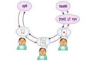 Метод ассоциаций в изучении английского
