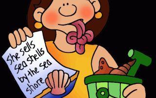 Топ 20 скороговорок на английском языке для улучшения произношения (tongue twisters)