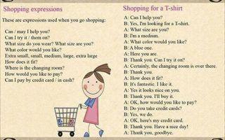 Покупки на английском языке — слова и фразы на тему shopping