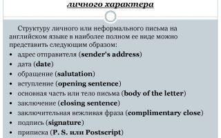 Отличается ли у англичан стиль написания писем?