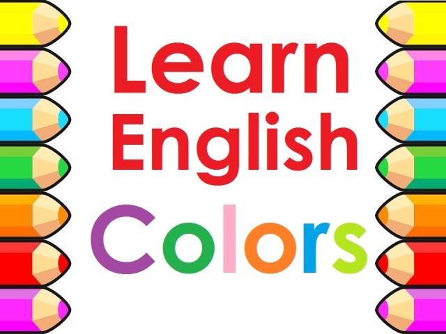 Цвета на английском языке – английские цвета с переводом ...